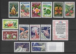 NELLE CALEDONIE - ANNEES COMPLETES 1964/65 - YVERT N°314/327 ** MNH - COTE = 85 EUR - - Años Completos