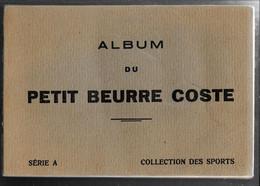 GF417 - ALBUM COLLECTEUR PETIT BEURRE COSTE - LES SPORTS - Albums & Catalogues