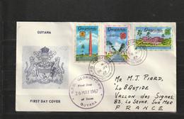 FDC De GUYANA Du 26/05/1967 - America (Other)