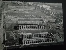 PAESTUM - IL SANTUARIO URBANO - VIAGGIATA (ROMA) ANN0 23-07-1957 OTTIMO STATO - Sin Clasificación