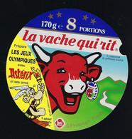 étiquette Fromage La Vache Qui Rit Bel 8  Portions 170g Les Jeux Olympique Avec Asterix - Cheese