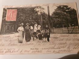 PARIS VECU JARDIN D'ACCLIMATATION PRECURSEUR 1904 - Parchi, Giardini