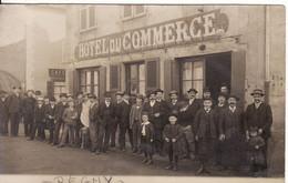 42 REGNY Hôtel Du Commerce - Otros Municipios