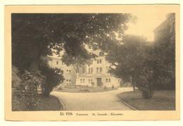 A0165[Postkaart] St. Vith / Couvent - St. Joseph - Klooster (X. Delputz) [entrée Ingang Park Parc Jardin Le Sankt Saint - Saint-Vith - Sankt Vith