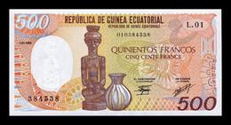 Equatorial Guinea Ecuatorial 500 Francs 1985 Pick 20 SC UNC - Equatorial Guinea