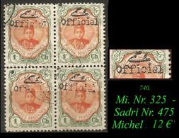 1912 -  Mi. Nr. 325 - Sadri Nr. 475 - Irán