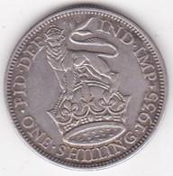 Grande Bretagne. 1 Shilling 1935. George V, En Argent - I. 1 Shilling