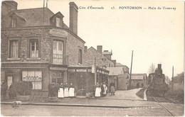 Dépt 50 - PONTORSON - Halte Du Tramway - (Hôtel Duguesclin) - Train - (ELD N° 23) - Pontorson