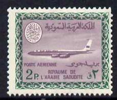 Saudi Arabia 1967-74 Boeing 720B Aircraft 2p (wmk'd) Unmounted Mint SG 807 - Saoedi-Arabië