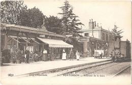 Dépt 50 - PONTORSON - Intérieur De La Gare - (ELD N° 31) - Train - Pontorson