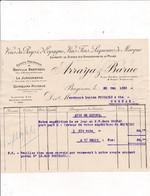 64-Arraya & Baruc..Vins De Pays, D'Espagne, Vins Fins....Bayonne.....(Pyrénées-Atlantiques)..1923 - Artigianato