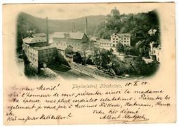 Papierfabrik Kriebstein   -seltene Postkarte - Voir Scan Recto-Verso - Otros