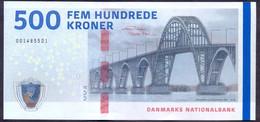 Denmark 500 Kroner 2009 ( 2020 ) UNC P- 68f 2020(1) - Danemark