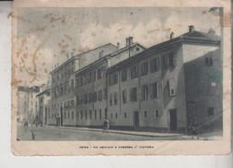 UDINE VIA AQUILEIA E CASERMA II° FANTERIA VERIFICATO CENSURA CON ZONA SPROVVISTA DI FRANCOBOLLI 1944 DIFETTO - Udine