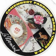 ETIQUETTE DE  FROMAGE NEUVE   CAMEMBERT   LE NEMROEL  VICQ SUR NAHON INDRE - Cheese
