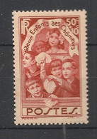 France - 1936 - N°Yv. 312 - Enfants Des Chomeurs - Neuf Luxe ** / MNH / Postfrisch - Unused Stamps