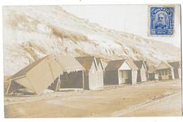 BOSCOMBE Ou Environ (Angleterre) Carte Photo Bord De Mer Tempete Cabanes écroulées - Sin Clasificación