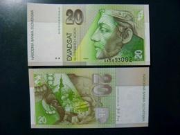UNC Banknote Slovakia 2001 20 Korun P-20e Castle - Slovakia