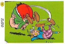 Judo Jeux Olymppiques JO 92 Image Adhésif Autocollant La Vache Qui Rit Fromagerie Bel Astérix . - Altri