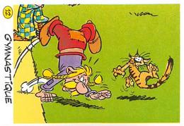 Gymnastique Jeux Olympiques JO 92 Image Adhésif Autocollant La Vache Qui Rit Fromagerie Bel Astérix - Unclassified