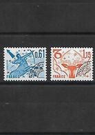 430 FRANCE  1978  2 Timbres Préoblitérés Signes Du Zodiaques YT 154-152  Neuf ** - 1964-1988