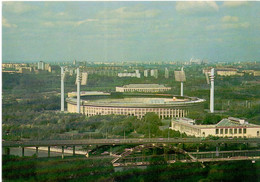 Postcard Stadium Moscow Luzhniki Russia Stadion Sports Stade Stadio Estadio Football Soccer Calcio - Calcio