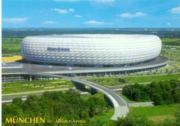 Postcard Stadium Munchen Germany Allianz Arena Stadion Stadio - Estadio - Stade - Sports - Football  Soccer - Fútbol