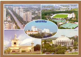 Postcard Stadium Chisinau Moldova Stadion Stadio - Estadio - Stade - Sports - Football  Soccer - Fútbol