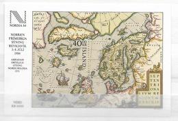 1984 MNH Iceland, Michel Block 6 Postfris** - Ongebruikt