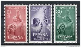 Fernando Poo 1961. Edifil 196-98 ** MNH - Fernando Poo