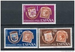 Fernando Poo 1968. Edifil 262-64 ** MNH. - Fernando Poo