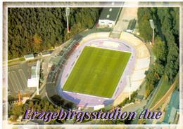 Postcard Stadium Aue Germany Stadion Stadio - Estadio - Stade - Sports - Football  Soccer - Calcio