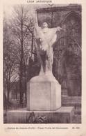 Lyon Statue Jeanne D 'Arc Place Pavis De Chavannes - Unclassified