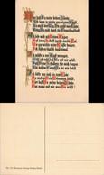 Sprüche/Gedichte (Religion/Kirche) Spruchkarte Künstlerkarte 1926 - Música
