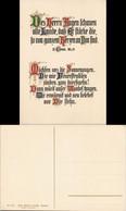 Spruchkarte Gedichte Des Herren Augen Schauen Goldbuchstaben 1922 - Filosofía & Pensadores