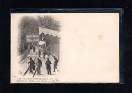 (29/12/20) 75-CPA PARIS - EXPOSITION UNIVERSELLE 1900 - PLATE FORME MOBILE - UNE MONTEE - Tentoonstellingen