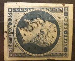 Empire No 14 Obl Pc 3358 De THORAME HAUTE, Basses Alpes Haute Provence,  Indice 19, Belle Frappe TTB - 1853-1860 Napoléon III