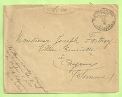 "Brief Stempel PMB Op 29/7/18 Verzonden Van ""Bureau De R.M. à St-Folquin / Pas-de-Calais"" (B296) - Belgische Armee"