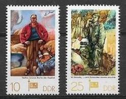 GERMANIA DEMOCRATICA DDR FOGLIETTI 1977 ESPOSIZIONE FILATELICA SOZPHILEX UNIF. 2247-2248 MNH XF - FDC: Hojas