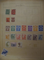 Yugoslavia: Ancient Stamps Collection From Ancient Albums, See Pics! - Collezioni (senza Album)