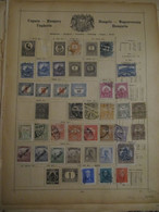 Hungary: Ancient Stamps Collection From Ancient Albums, See Pics! - Collezioni (senza Album)