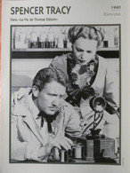 SPENCER TRACY DANS LA VIE DE THOMAS EDISON 1940 ETATS UNIS SERIE PORTRAIT DE STARS EDITO SERVICE - Fotos