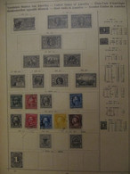 USA: Ancient Stamps Collection From Ancient Albums, See Pics! - Collezioni (senza Album)