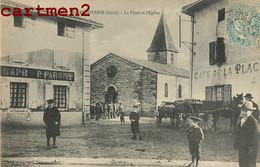 VILLEFONTAINE LA PLACE ET L'EGLISE ANIMEE 38 ISERE - Ohne Zuordnung