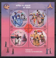 MS Miniature, COVID Warriors, Health Disease, Train, Ship, Airplane, Motorbike,  Patrol Car, Mail Van, Ambulance, - Maladies