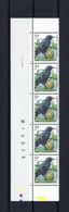 N°PRE827A Fluor Buzin Drukdatumstrook 1.IV.96 Paar MNH ** POSTFRIS ZONDER SCHARNIER SUPERBE - 1985-.. Birds (Buzin)