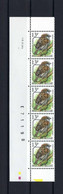 N°PRE837 Fluor Buzin Drukdatumstrook 10.XI.94 Paar MNH ** POSTFRIS ZONDER SCHARNIER SUPERBE - 1985-.. Pájaros (Buzin)