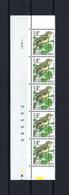 N°PRE838 Fluor Buzin Drukdatumstrook 7.XII.95 Paar MNH ** POSTFRIS ZONDER SCHARNIER SUPERBE - 1985-.. Pájaros (Buzin)