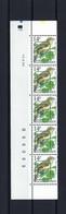 N°PRE838 Fluor Buzin Drukdatumstrook 12.IV.96 Onpaar MNH ** POSTFRIS ZONDER SCHARNIER SUPERBE - 1985-.. Birds (Buzin)