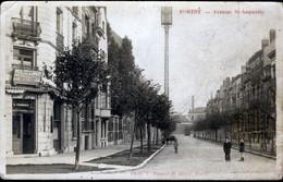 FOREST - VORST : Carte Photo : Avenue St Augustin - Forest - Vorst